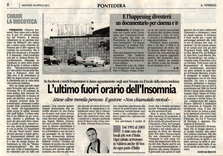 insomnia articolo